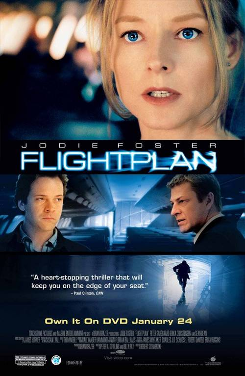 Flightplan 2005 BluRay 720p 540MB Dual Audio ( Hindi – English ) ESubs MKV