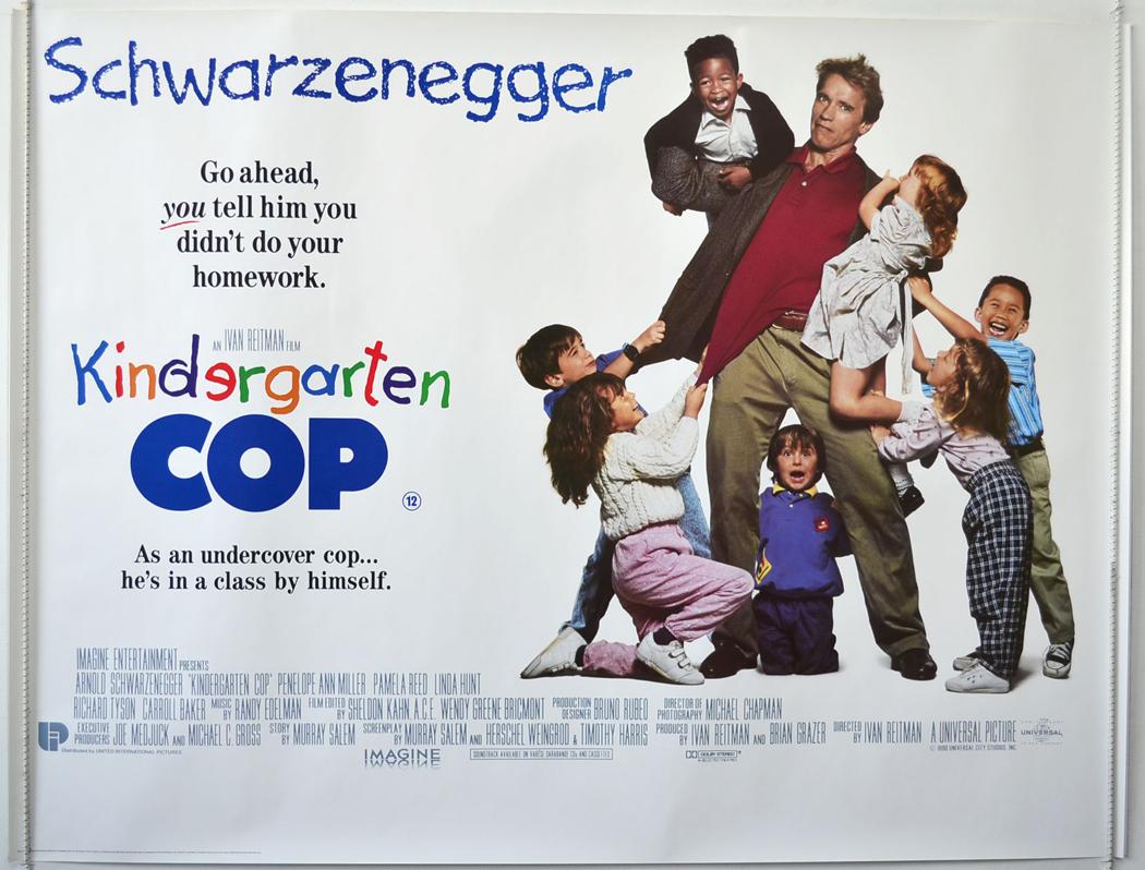Kindergarten Cop 1990 Movierob