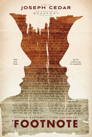 Footnote film poster