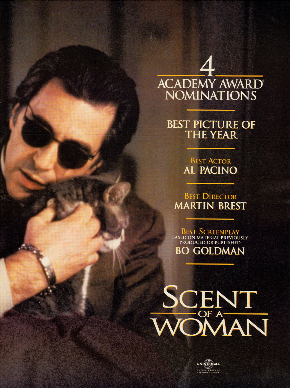 Scent Of A Woman 1992 Movierob