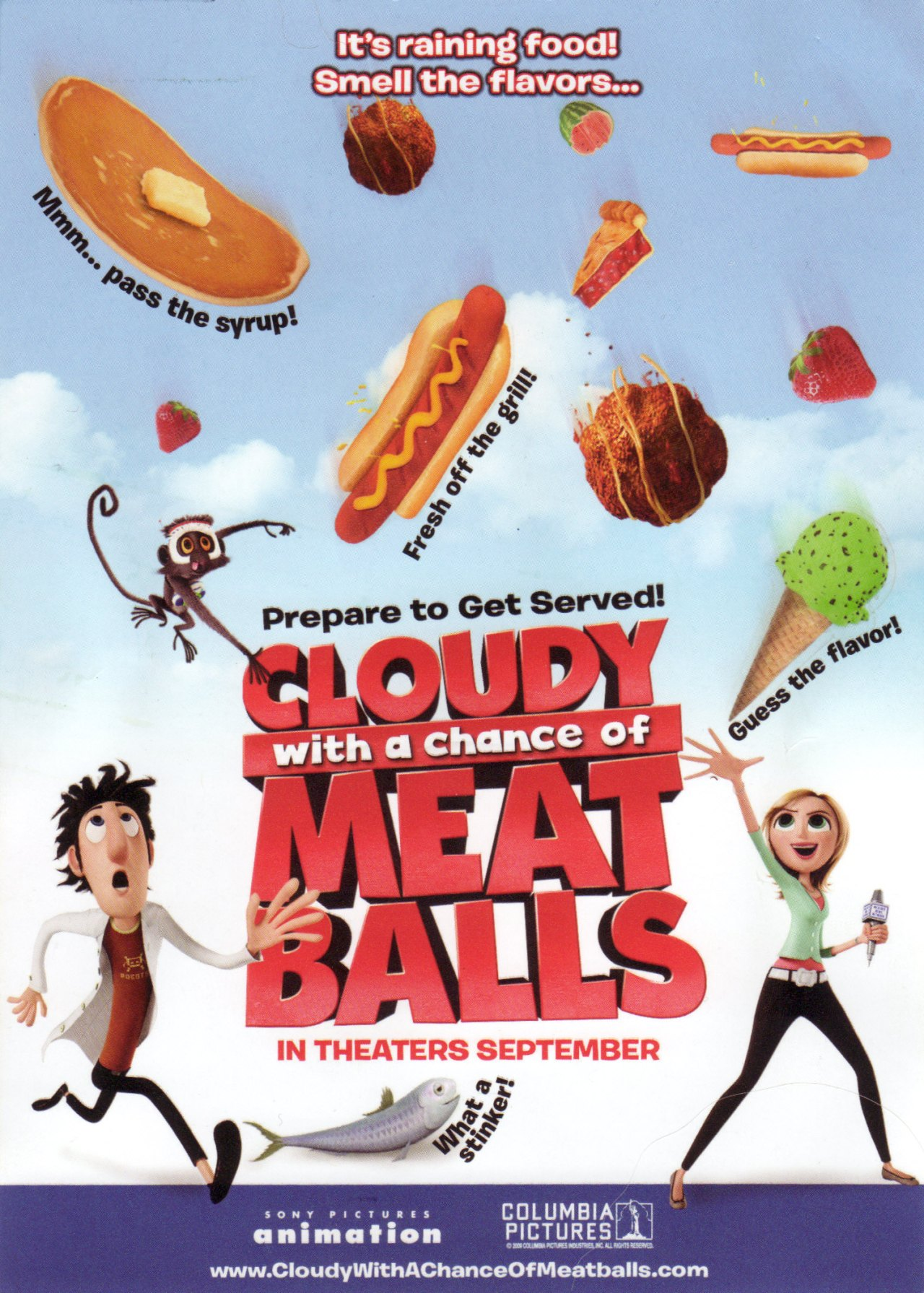 Cloudy With A Chance For Meatballs 2009 Movierob