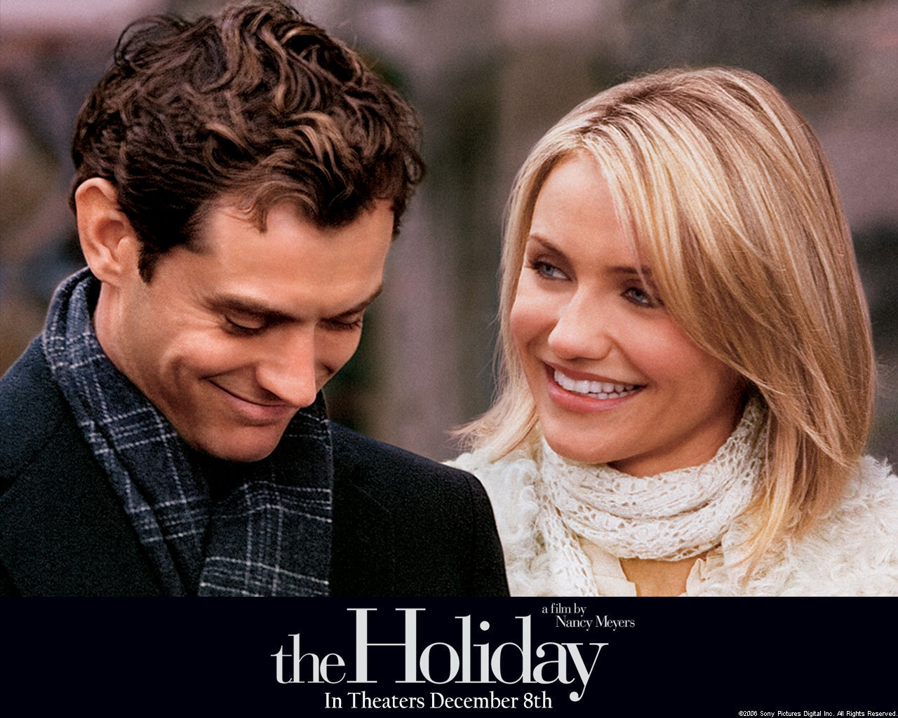 Genre Grandeur – The Holiday (2006) – Life of This City Girl Cameron Diaz Movies 2006