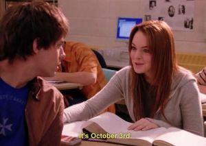 October third