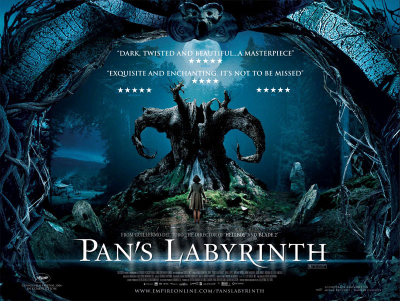 Movie Posters 2006: Pan's Labyrinth (2006)