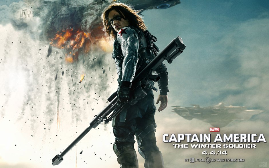 Captain America Winter Soldier Large