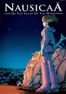 nausicaa of the valley of the wind poster