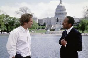 ARLINGTON ROAD, Jeff Bridges, Robert Gossett, 1999, (c) Screen Gems