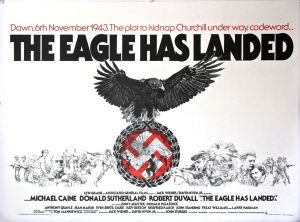 The Eagle Has Landed - Original UK Quad - Linen backed (1977)