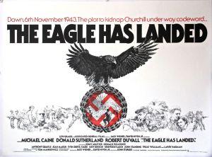 The Eagle Has Landed - Original UK Quad - Linen backed (1977)