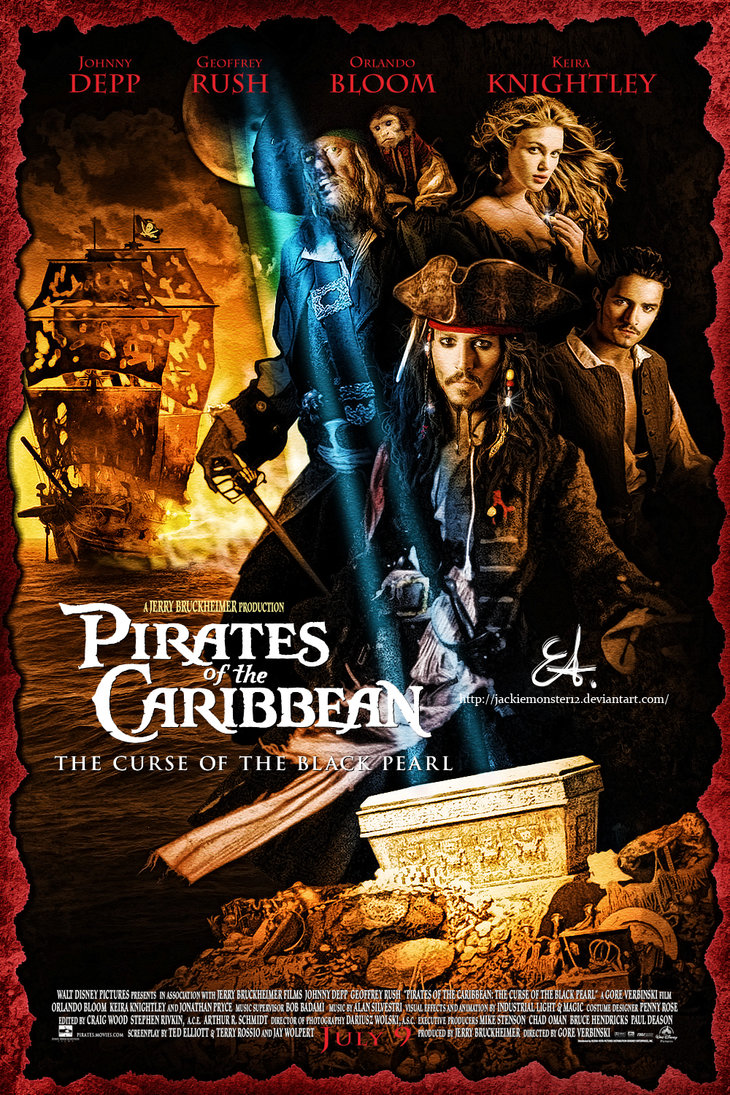 Genre Guesstimation Pirates Of The Caribbean The Curse Of The Black Pearl 2003 Movierob